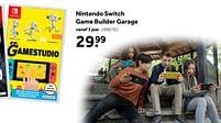 Aanbiedingen Nintendo switch game builder garage - Nintendo - Geldig van 02/10/2021 tot 05/12/2021 bij Intertoys