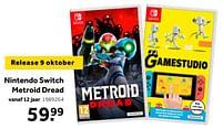 Aanbiedingen Nintendo switch metroid dread - Nintendo - Geldig van 02/10/2021 tot 05/12/2021 bij Intertoys