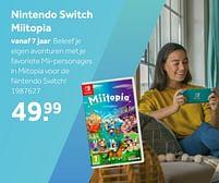 Aanbiedingen Nintendo switch miitopia - Nintendo - Geldig van 02/10/2021 tot 05/12/2021 bij Intertoys