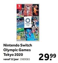 Aanbiedingen Nintendo switch olympic games tokyo 2020 - Sega - Geldig van 02/10/2021 tot 05/12/2021 bij Intertoys