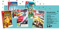Aanbiedingen Nintendo switch sports party - Ubisoft - Geldig van 02/10/2021 tot 05/12/2021 bij Intertoys