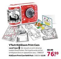 Aanbiedingen Vtech kidizoom print cam - Vtech - Geldig van 02/10/2021 tot 05/12/2021 bij Intertoys