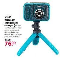Aanbiedingen Vtech kidizoom vloggercam - Vtech - Geldig van 02/10/2021 tot 05/12/2021 bij Intertoys