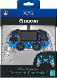 Aanbiedingen PS4 Nacon Wired Official Controller Transparant B - BIGben - Geldig van 11/10/2021 tot 25/10/2021 bij Toychamp