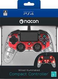 Aanbiedingen PS4 Nacon Wired Official Controller Transparant Ro - BIGben - Geldig van 11/10/2021 tot 25/10/2021 bij Toychamp