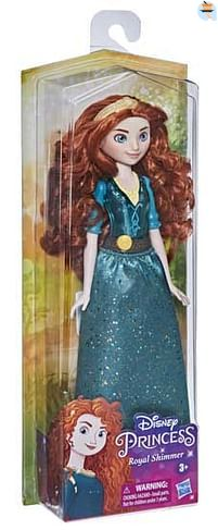 Aanbiedingen Disney Princess Royal Shimmer Pop Merida - Disney - Geldig van 11/10/2021 tot 25/10/2021 bij Toychamp