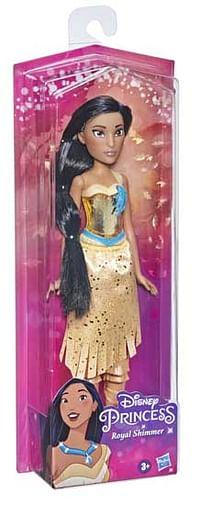 Aanbiedingen Disney Princess Royal Shimmer Pop Pocahontas - Disney - Geldig van 11/10/2021 tot 25/10/2021 bij Toychamp