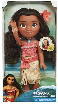 Aanbiedingen Disney Princess Vaiana pop 38cm - Disney - Geldig van 11/10/2021 tot 25/10/2021 bij Toychamp