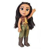 Aanbiedingen Dsiney Raya pop 38cm - Disney - Geldig van 11/10/2021 tot 25/10/2021 bij Toychamp