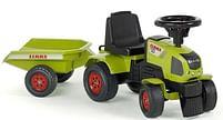 Aanbiedingen Claas Axos 310 looptractor met trailer - Falk - Geldig van 11/10/2021 tot 25/10/2021 bij Toychamp