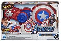 Aanbiedingen Avengers Captain America Power Moves Role play set - Hasbro - Geldig van 11/10/2021 tot 25/10/2021 bij Toychamp