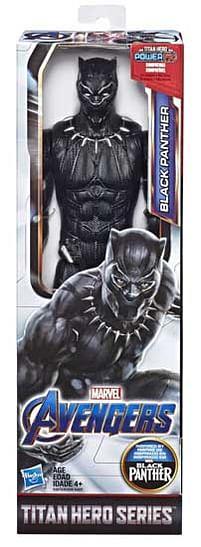 Aanbiedingen Avengers Titan Hero Black Panther 30cm - Hasbro - Geldig van 11/10/2021 tot 25/10/2021 bij Toychamp