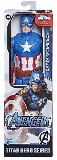 Aanbiedingen Avengers Titan Heroes Captain America 30cm - Hasbro - Geldig van 11/10/2021 tot 25/10/2021 bij Toychamp