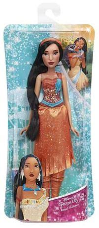 Aanbiedingen Disney Princess Royal Shimmer Pocahontas - Hasbro - Geldig van 11/10/2021 tot 25/10/2021 bij Toychamp