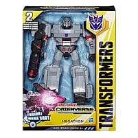 Aanbiedingen Transformers Cyberverse Ultimate Figuur 30cm - Hasbro - Geldig van 11/10/2021 tot 25/10/2021 bij Toychamp