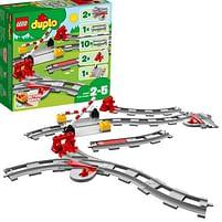 Aanbiedingen 10882 DUPLO Treinrails - Lego - Geldig van 11/10/2021 tot 25/10/2021 bij Toychamp