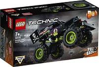 Aanbiedingen 42118 LEGO Technic Monster Jam Grave Digger - Lego - Geldig van 11/10/2021 tot 25/10/2021 bij Toychamp