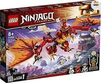 Aanbiedingen 71753 Vuurdraak aanval - Lego - Geldig van 11/10/2021 tot 25/10/2021 bij Toychamp