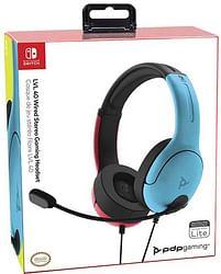 Aanbiedingen Switch Afterglow LVL40 Headset Blauw/Rood - Nintendo - Geldig van 11/10/2021 tot 25/10/2021 bij Toychamp