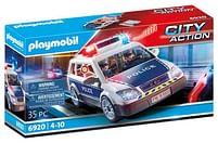 Aanbiedingen 6920 Politiepatrouille met licht en geluid - Playmobil - Geldig van 11/10/2021 tot 25/10/2021 bij Toychamp