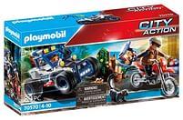 Aanbiedingen 70570 Politie SUV Achtervolging van de schattenrov - Playmobil - Geldig van 11/10/2021 tot 25/10/2021 bij Toychamp