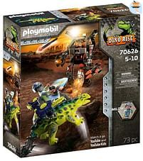 Aanbiedingen 70626 Saichania: verdediging van de vechtersbazen - Playmobil - Geldig van 11/10/2021 tot 25/10/2021 bij Toychamp