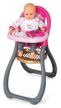 Aanbiedingen Baby Nurse hoge poppenstoel - Smoby - Geldig van 11/10/2021 tot 25/10/2021 bij Toychamp