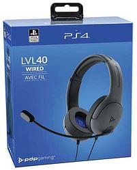 Aanbiedingen PS4 & PS5 Afterglow LVL40 Headset Zwart - Sony - Geldig van 11/10/2021 tot 25/10/2021 bij Toychamp