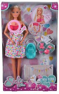 Aanbiedingen Steffi Love New Born Baby 29cm - Steffi Love - Geldig van 11/10/2021 tot 25/10/2021 bij Toychamp