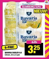 Aanbiedingen Bavaria radler 0.0 - Bavaria - Geldig van 11/10/2021 tot 24/10/2021 bij Big Bazar