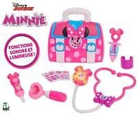 Aanbiedingen Minnie - Dokterstas met licht en geluid - Disney - Geldig van 15/10/2021 tot 29/10/2021 bij Toychamp