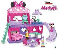 Aanbiedingen Minnie - Het Huis van Minnie met figuur 7,5cm - Disney - Geldig van 15/10/2021 tot 29/10/2021 bij Toychamp