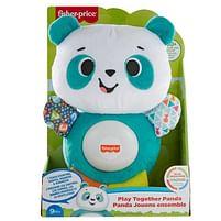 Aanbiedingen Fisher Price Linkimals Panda pluche - Fisher-Price - Geldig van 15/10/2021 tot 29/10/2021 bij Toychamp