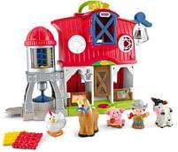 Aanbiedingen Little People Dierenverzorging Boerderij - Fisher-Price - Geldig van 15/10/2021 tot 29/10/2021 bij Toychamp