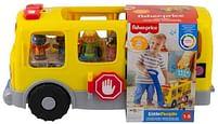 Aanbiedingen Little People Grote Gele Schoolbus met 4 figuren - Fisher-Price - Geldig van 15/10/2021 tot 29/10/2021 bij Toychamp