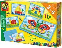 Aanbiedingen SES Mozaïekbord met kaarten - SES - Geldig van 15/10/2021 tot 29/10/2021 bij Toychamp