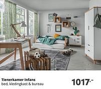 Aanbiedingen Tienerkamer infans - Huismerk - Baby & Tiener Megastore - Geldig van 17/10/2021 tot 23/10/2021 bij Baby & Tiener Megastore