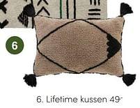 Aanbiedingen Lifetime kussen - Lifetime - Geldig van 17/10/2021 tot 23/10/2021 bij Baby & Tiener Megastore