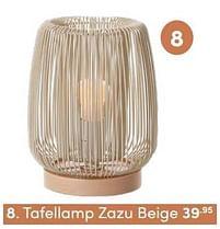 Aanbiedingen Tafellamp zazu beige - KidsDepot - Geldig van 17/10/2021 tot 23/10/2021 bij Baby & Tiener Megastore