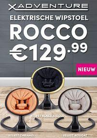 Aanbiedingen X-adventure elektrische wipstoel rocco - Xadventure - Geldig van 17/10/2021 tot 23/10/2021 bij Baby & Tiener Megastore