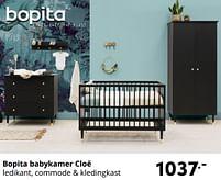 Aanbiedingen Bopita babykamer cloë - Bopita - Geldig van 17/10/2021 tot 23/10/2021 bij Baby & Tiener Megastore