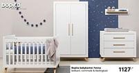 Aanbiedingen Bopita babykamer fenna - Bopita - Geldig van 17/10/2021 tot 23/10/2021 bij Baby & Tiener Megastore
