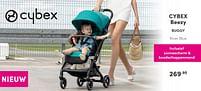 Aanbiedingen Cybex beezy buggy - Cybex - Geldig van 17/10/2021 tot 23/10/2021 bij Baby & Tiener Megastore