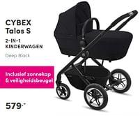 Aanbiedingen Cybex talos s 2-in-1 kinderwagen - Cybex - Geldig van 17/10/2021 tot 23/10/2021 bij Baby & Tiener Megastore