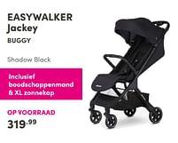 Aanbiedingen Easywalker jackey buggy - Easywalker - Geldig van 17/10/2021 tot 23/10/2021 bij Baby & Tiener Megastore