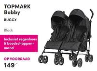 Aanbiedingen Topmark bobby buggy - Topmark - Geldig van 17/10/2021 tot 23/10/2021 bij Baby & Tiener Megastore