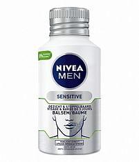Aanbiedingen 125ml Nivea Men Sensitive Skin en Stubble Balm - Nivea - Geldig van 20/10/2021 tot 03/11/2021 bij Drogisterij.net