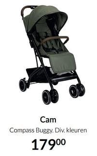 Aanbiedingen Cam compass buggy - Cam - Geldig van 19/10/2021 tot 15/11/2021 bij Babypark