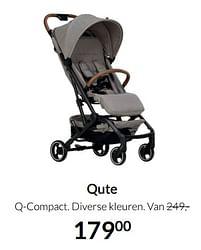 Aanbiedingen Qute q-compact - Qute - Geldig van 19/10/2021 tot 15/11/2021 bij Babypark