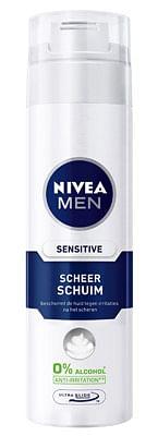 Aanbiedingen 250ml Nivea Men Sensitive Scheerschuim - Nivea - Geldig van 23/10/2021 tot 06/11/2021 bij Drogisterij.net